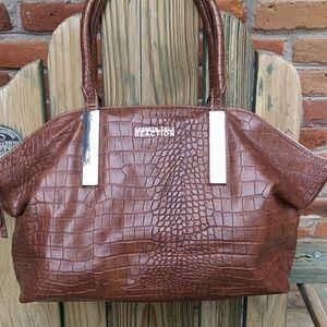 Kenneth Cole Faux Leather Shoulder Bag